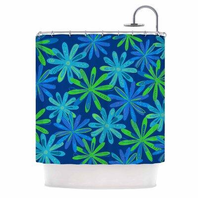 Cristina Bianco Floral Illustration Shower Curtain
