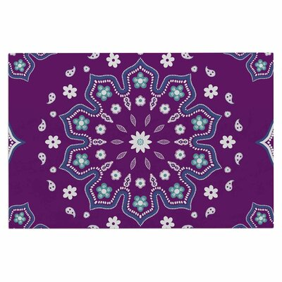 Cristina Bianco Mandala Illustration Doormat