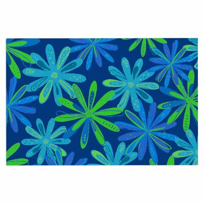 Cristina Bianco Floral Illustration Doormat