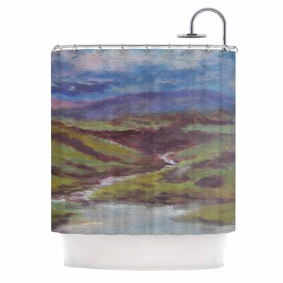 Cyndi Steen Dreaming of Scotland Shower Curtain