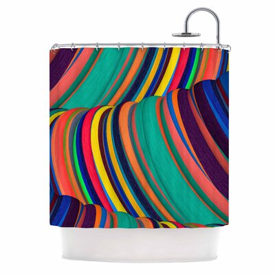 Danny Ivan Mapel Shower Curtain
