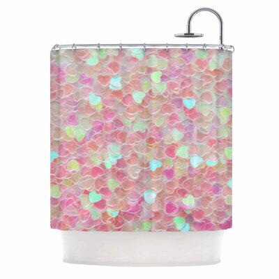 Debbra Obertanec Hearts Galore Shower Curtain