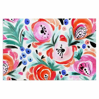Crystal Walen Boho Morning Glory Doormat