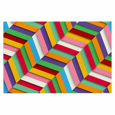Danny Ivan Excuse Me Abstract Doormat