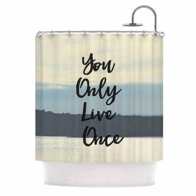 Debbra Obertanec YOLO Shower Curtain