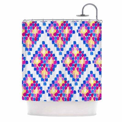 Danii Pollehn Marrakech Mosaic Shower Curtain