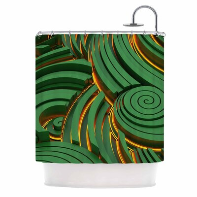 Danny Ivan infinity Shower Curtain