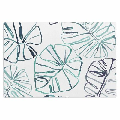 Danii Pollehn Monstera Illustration Doormat