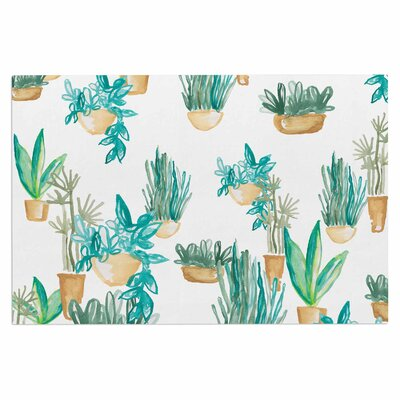 Danii Pollehn House Plants Illustration Doormat