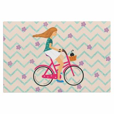 Cristina Bianco Bicycle Ride Doormat