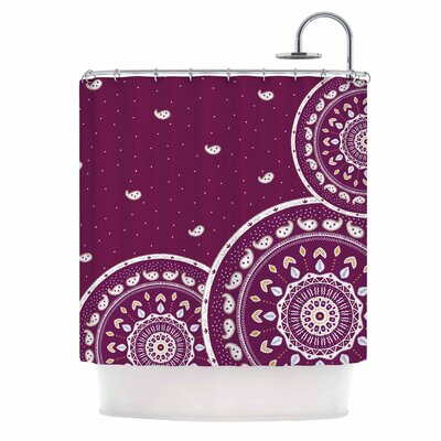 Cristina Bianco Mandalas Shower Curtain