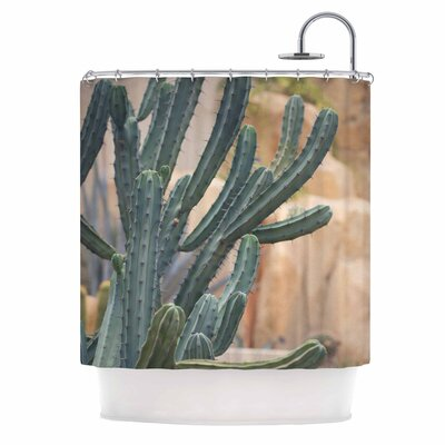 Ann Barnes Cactus Jungle II Photography Shower Curtain