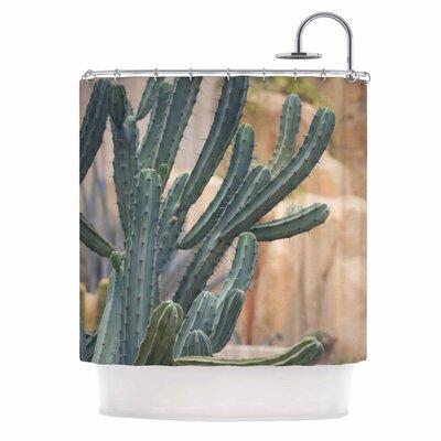 Ann Barnes Cactus Jungle II Photography Shower Curtain