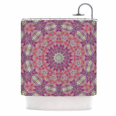 Alison Coxon Gypsy Medallion Digital Shower Curtain