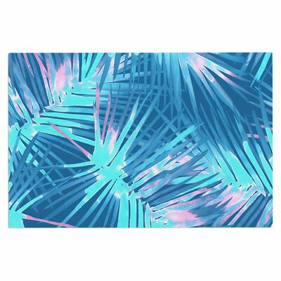 Danii Pollehn Neon Tropical Illustration Doormat