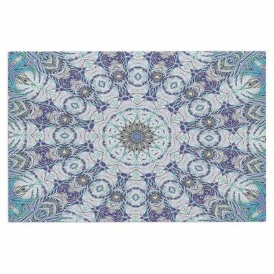 Alison Coxon Jungle Kaleidoscope Cool Doormat Color: Blue/Purple
