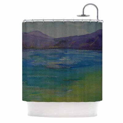 Cyndi Steen Mountains Shower Curtain
