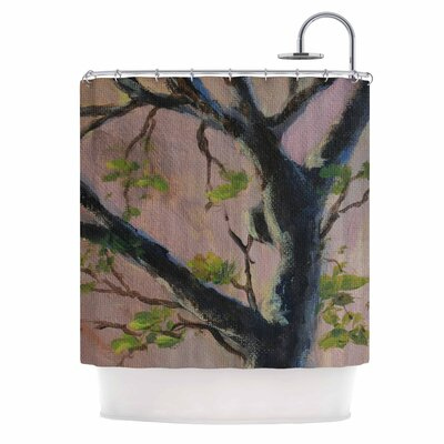 Cyndi Steen Aussie Tree Shower Curtain