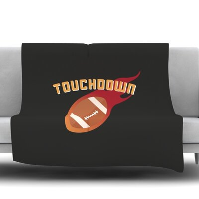 Touchdown XLVI Fleece Blanket Size: 50 W x 60 L