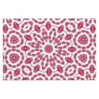 Alison Coxon Ruby Mandala Digital Doormat