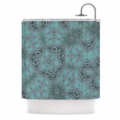 Alison Coxon Tribal Fire Digital Shower Curtain