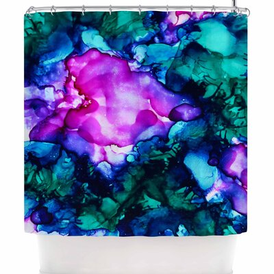 Claire Day Nebula Abstract Shower Curtain