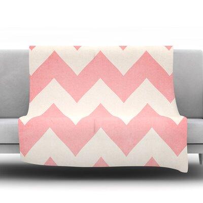 Sweet Kisses by Catherine McDonald Fleece Blanket Size: 60 W x 80 L