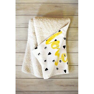 Love XOXO Blanket Size: 60 L x 50 W
