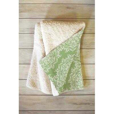 Lotus Blanket Size: 80 L x 60 W
