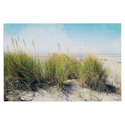 Dune Grass Coastal Photography Decorative Doormat