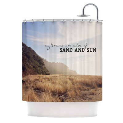 Sand and Sun Photography Shower Curtain
