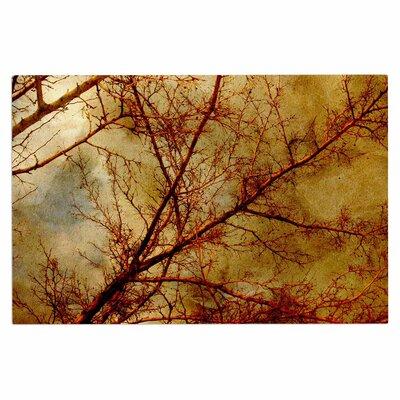 Gothic Red Tree Doormat
