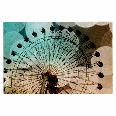 Ferris Wheel Silhouette Doormat