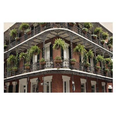 New Orleans Street Corner Doormat