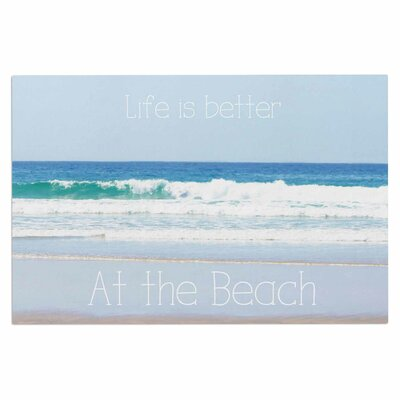 Life is Better at the Beach Doormat