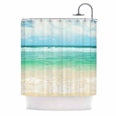 Endless Sea Coastal Shower Curtain