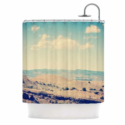 Wild West Nature Shower Curtain
