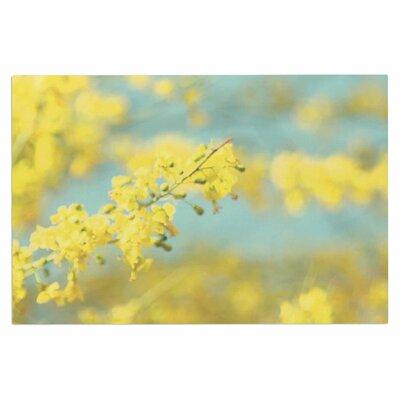 Yellow Blooms 2 Doormat