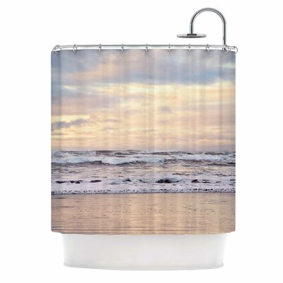 Ocean Sunset Photography Shower Curtain