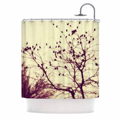 Darkness Into Light Nature Shower Curtain