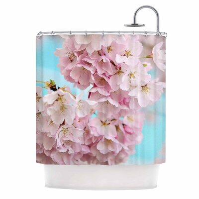 A Pastel Spring Shower Curtain