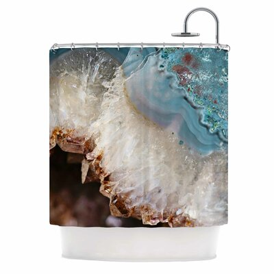 Quartz Waves Shower Curtain