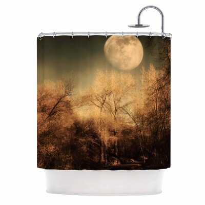 Full Moon Nature Shower Curtain