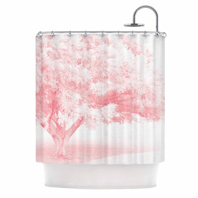 Pink Frost Photography Shower Curtain