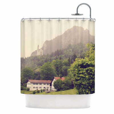German Beauty Travel Shower Curtain