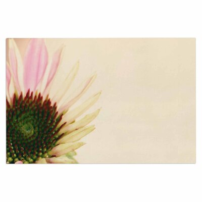 Pink and Yellow Flower Blush Decorative Doormat