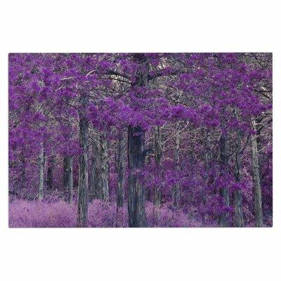 Purple Tree Doormat