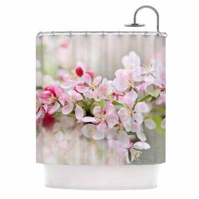 April Flowers Shower Curtain