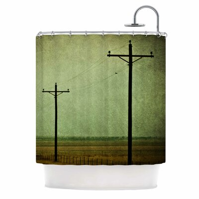 Electric Digital Shower Curtain