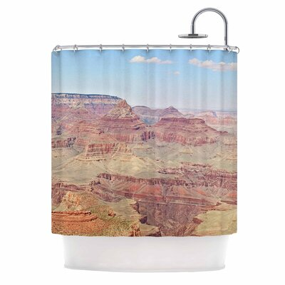 Grand Canyon Panoramic Nature Travel Shower Curtain